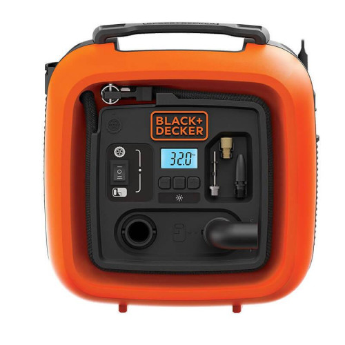 Αεροσυμπιεστής 12V 160PSI - 11Bar Black and Decker ASI400