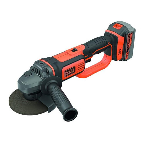 Γωνιακός Τροχός 18V Li-Ion (1x4.0Ah)  Black-Decker BCG720M1