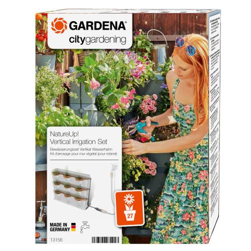 Σύστημα ποτίσματος με σταγόνα (Micro-Drip) για 27 γλάστρες NATURE UP GARDENA 13156-20