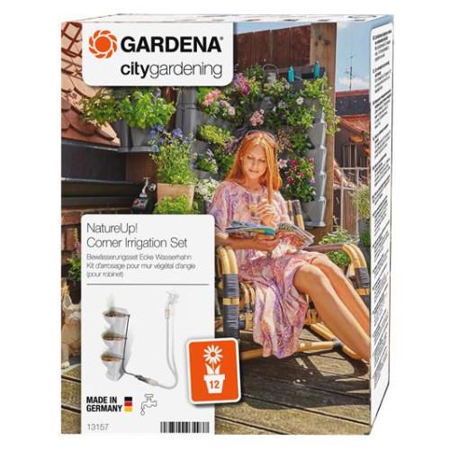 Σύστημα ποτίσματος με σταγόνα (Micro-Drip) για 12 γλάστρες NATURE UP GARDENA 13157-20
