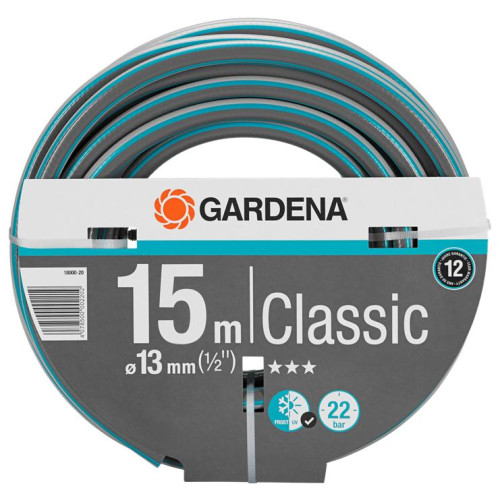 """ΛΑΣΤΙΧΟ CLASSIC 13 MM (1/2"""") 15m Gardena 18000-20"""