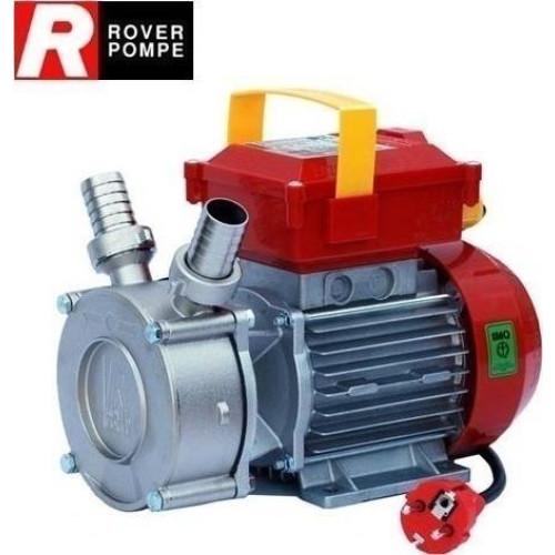 Αντλία ΙΝΟΧ μονοφασική 0,6 hp 1450rpm για Λάδι-μούστο-κρασί-γάλα-πετρέλαιο ROVER NOVAX 25M