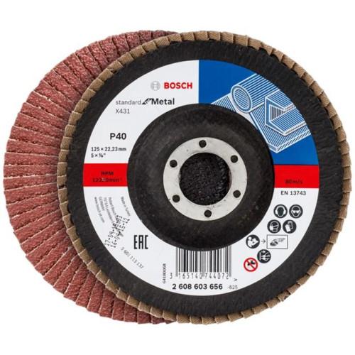 Δίσκος φυλλαράκια Κ40 125mm Bosch 2608603656