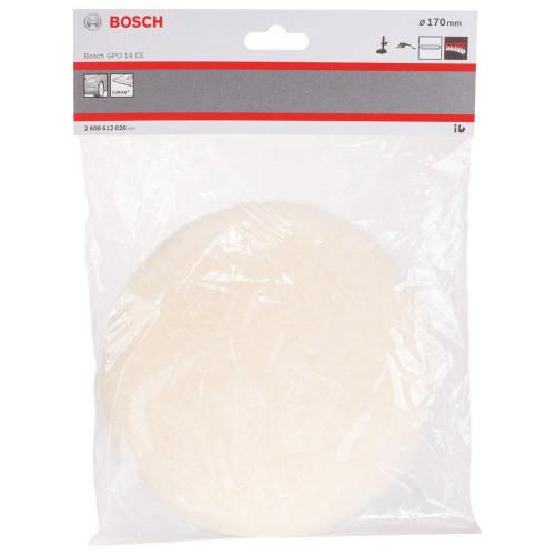 Γούνα τριβείου Φ170mm VELCRO Bosch 2608612026