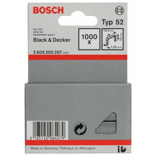 ΔΙΧΑΛΑ BOSCH 12.3x12x1.25 type 52 για Black-Decker 1000ΤΕΜ 2609200207
