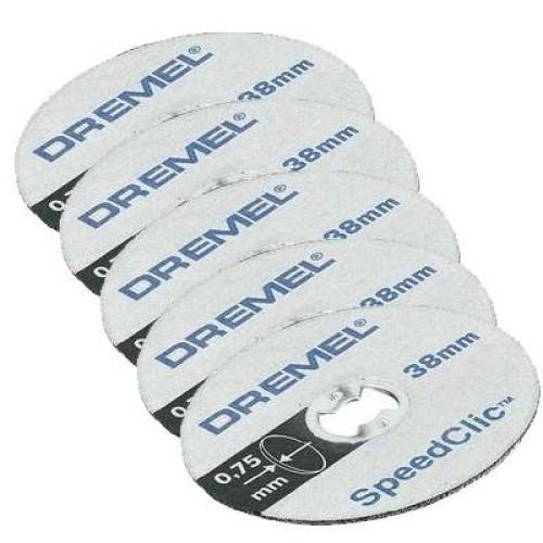 Λεπτοί δίσκοι κοπής 5 τεμ. DREMEL EZ SpeedClic SC409 2615S409JB