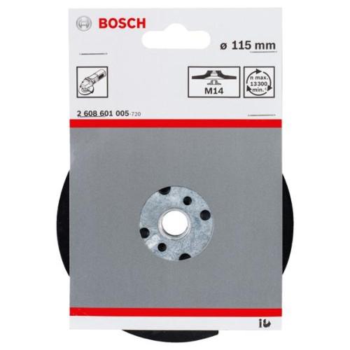 Βάση για γυαλόχαρτα 115mm για τροχό με βίδα BOSCH 2608601005