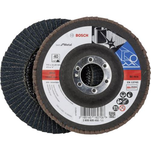 Δίσκος φυλλαράκια Κ40 115mm Bosch 2608605450
