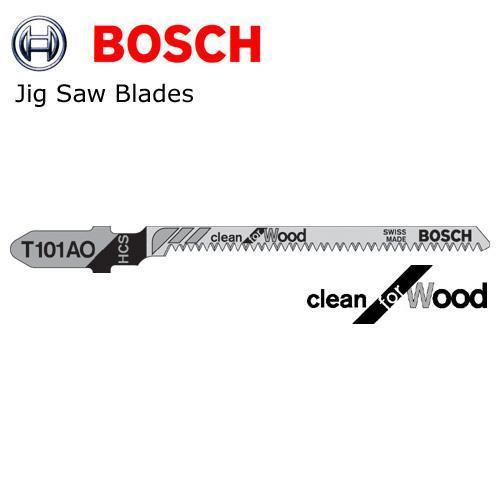 Λάμα για καθαρή κοπή ξύλου BOSCH T101AO για σχέδια 5τεμ. 2608630031