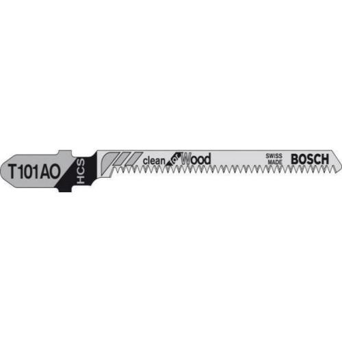 Λάμα για καθαρή κοπή ξύλου BOSCH T101AO για καμπύλες 3τεμ. 2608630559