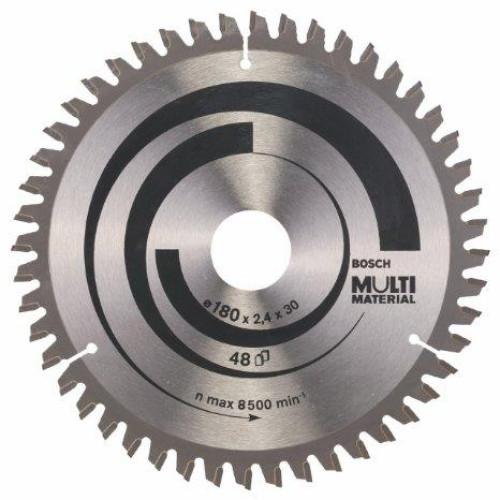 Δίσκος Multi Material 180x30 Z48 Αλουμινίου- Ξυλου Bosch 2608640507