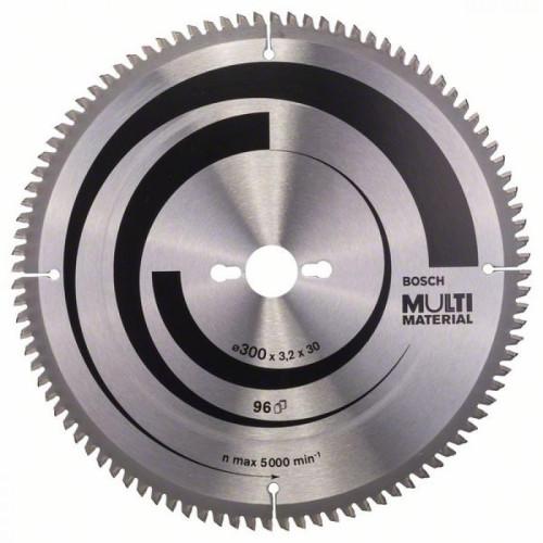 Δίσκος Multi Material 300x30 Z96 Bosch 2608640518