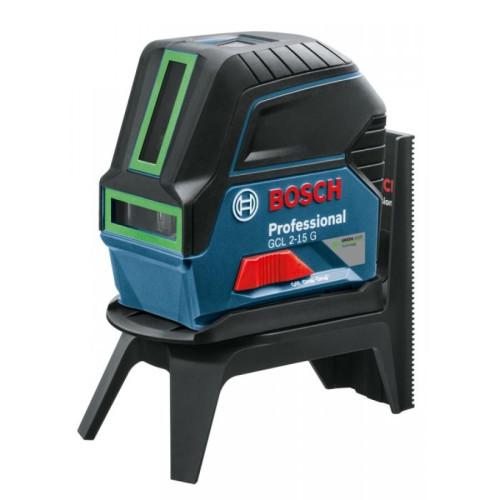 Λέιζερ γραμμών GCL 2-15 G Professional Bosch πράσινη ακτίνα 0601066J00
