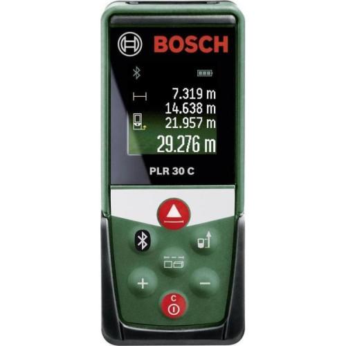 Ψηφιακός Μετρητής Αποστάσεων BOSCH PLR30C με Λέιζερ 0603672100