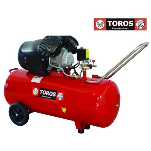 ΑΕΡΟΣΥΜΠΙΕΣΤΗΣ TOROS TM 100/3 3Hp/8bar/100lt 40139