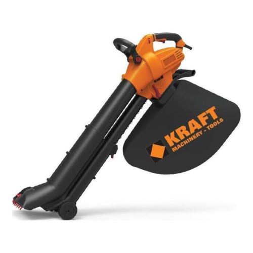 Φυσητήρας-Απορροφητήρας Ηλεκτρικός Φύλλων 3000W KRAFT 69234