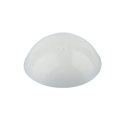 Τάπα κάλυμμα για βίδες 4,2mm πινακίδων λευκές WURTH 0202001421
