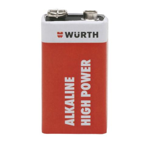 ΜΠΑΤΑΡΙΕΣ 9V 6LP3146 ALKALINE HIGH POWER WURTH 0827115