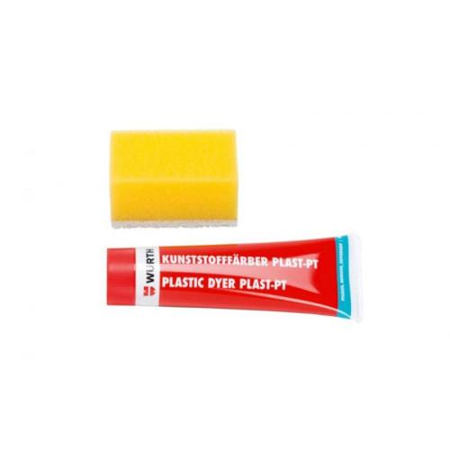 Πλαστική χρωστική ύλη ανθρακί πλαστικών μερών Wurth 08932802 75ml