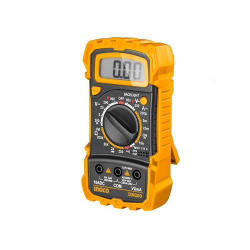 Πολύμετρο Ψηφιακό INGCO DM200