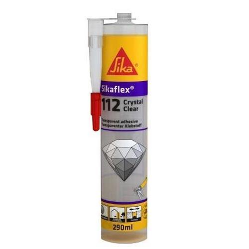 Σφραγιστικό-Συγκολλητικό Crystal Clear Διάφανο 300gr Sikaflex 112
