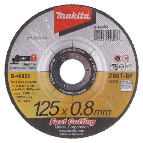 Δίσκος κοπής σιδήρου 115Χ0,8 MET.-INOX Β-46947