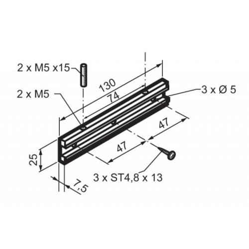 Βάση για μοτέρ καδένας Mingardi Micro 02