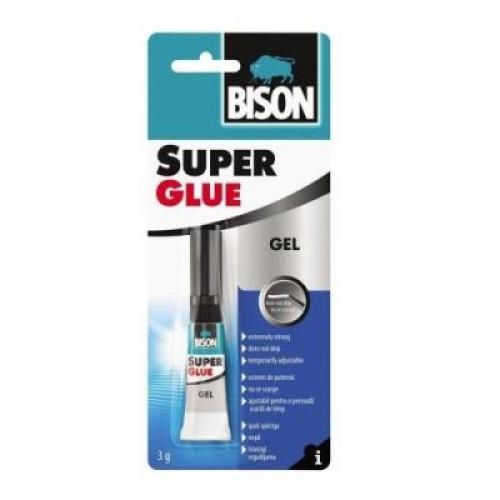 Κόλλα Bison Super Glue GEL 3gr blister κυανοακρυλική