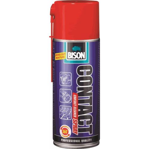 Σπρέι καθαρισμού ηλεκτρικών επαφών Bison Contact Spray 400ml
