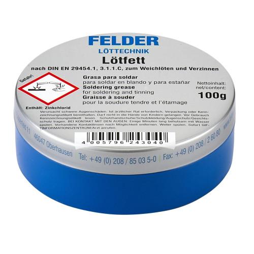 ΑΛΟΙΦΗ ΚΟΛΛΗΣΗΣ ΓΙΑ ΚΑΛΑΙ lotfett FELDER 100gr Germany