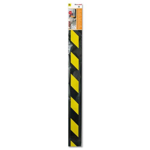 Προστατευτικό αυτοκολλητο γκαράζ κιτρινο/μαυρο 90cm FIXOMOLL 3566696