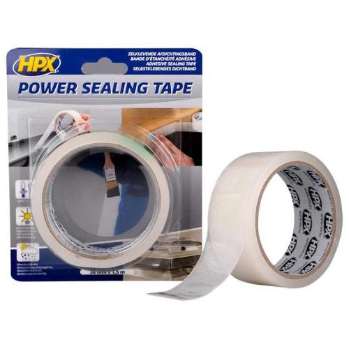 Ταινία Power sealing 38mmX1.5m ημιδιαφανής σφραγιστική HPX PS3802 Επαγγελματική