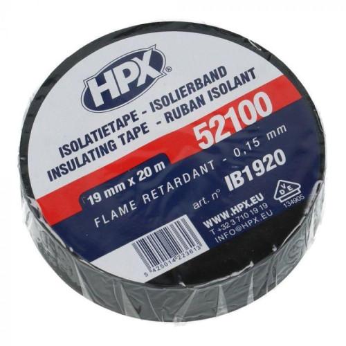 Μονωτική ταινία μαύρη 19mm x 20m HPX IB1920