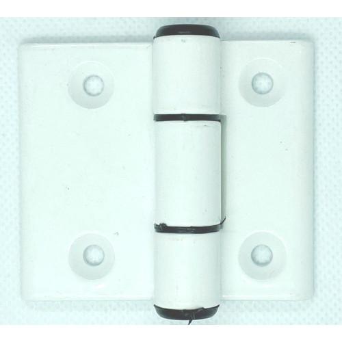 Μεντεσές αλουμινίου πεταλούδα  6cm X 7cm λευκός