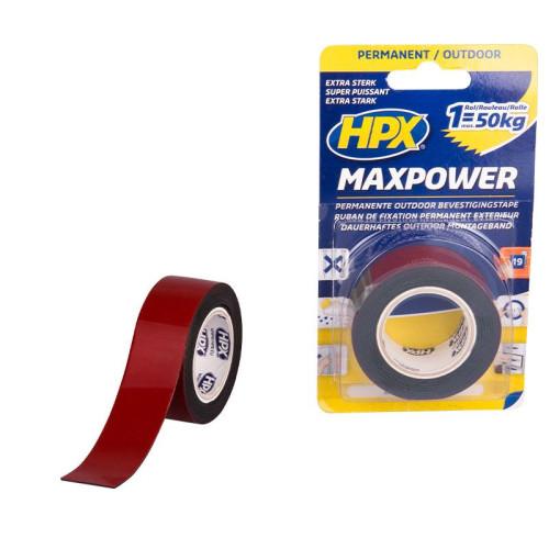 Ταινία Διπλής Οψης&Εξωτερικού Χώρου MaxPower HPX 25mmX1.5m OT2502S