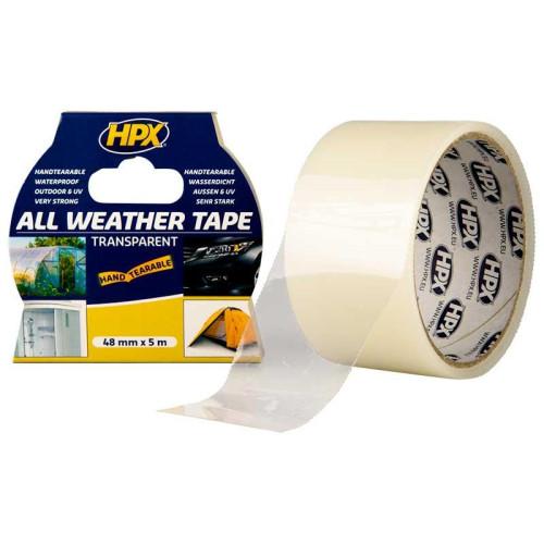 Ταινία Θερμοκηπίου 48mm*5m Διαφανη UV HPX ALL WHEATHER 480500122