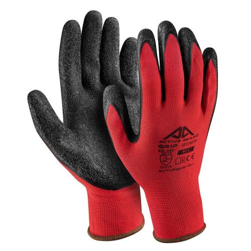 Γάντια εργασίας Νιτριλίου για γερό κράτημα Active Gear G1168 No08