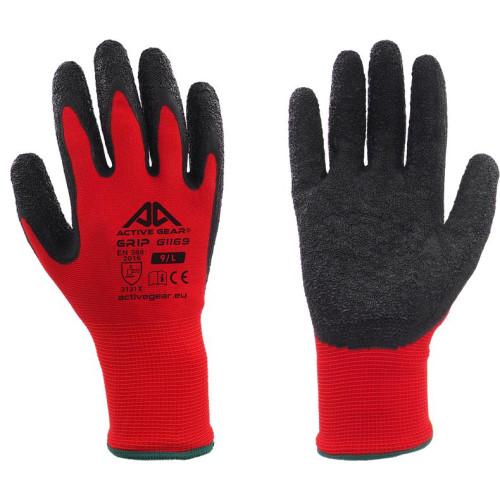 Γάντια εργασίας Νιτριλίου για γερό κράτημα Active Gear G1169 No09