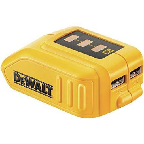 Dewalt DCB090 Αντάπτορας Φορτιστής για USB Συσκευές από 10,8-18V Μπαταρίες