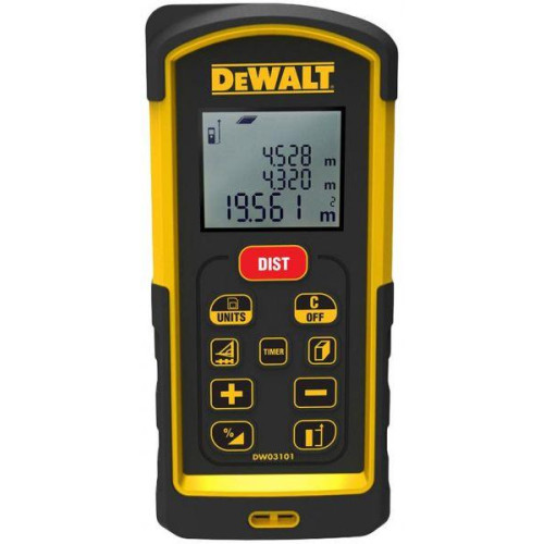 Μετρητής αποστάσεων λέιζερ Dewalt 100m DW03101