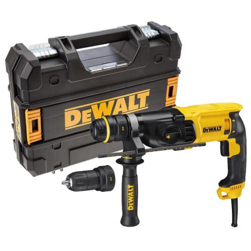 Dewalt D25134K Πιστολέτο SDS-PLUS 800w 26mm με τσοκ ταχείας αλλαγής