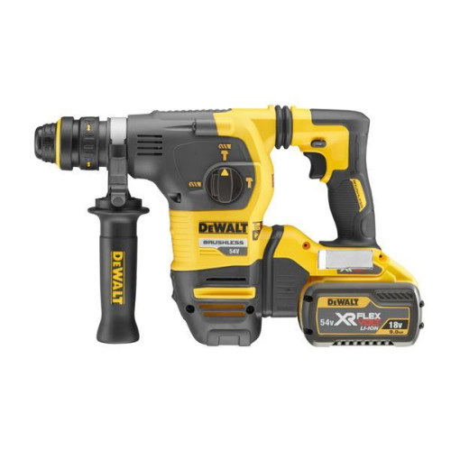 ΠΙΣΤΟΛΕΤΟ SDS-PLUS ΣΕ TSTAK 5KG 3.5J + AYTOMATO ΤΣΟΚ  54V 9.0AH XR BRUSHLESS FLEXVOLT  DEWALT DCH334X2