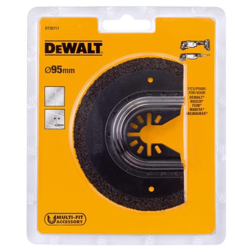 Ημι-κύκλια Λεπίδα Καρβιδίου Σοβά 3mm Dewalt DT20717