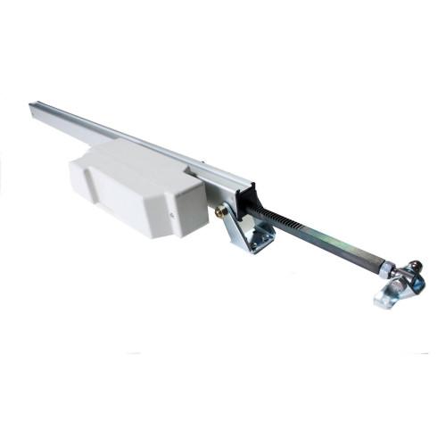 Μοτέρ ράγας ηλεκτρικό ασημί 220V-650N/350N-350mm made in ITALY UCS RACK230VAC 40211T