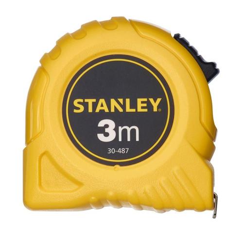 ΜΕΤΡΟ STANLEY 3mX19mm ΚΙΤΡΙΝΟ 1-30-487