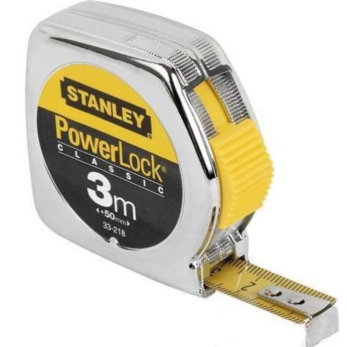 ΜΕΤΡΑ STANLEY POWERLOCK blister 3Μ X 12,7mm 0-33-218