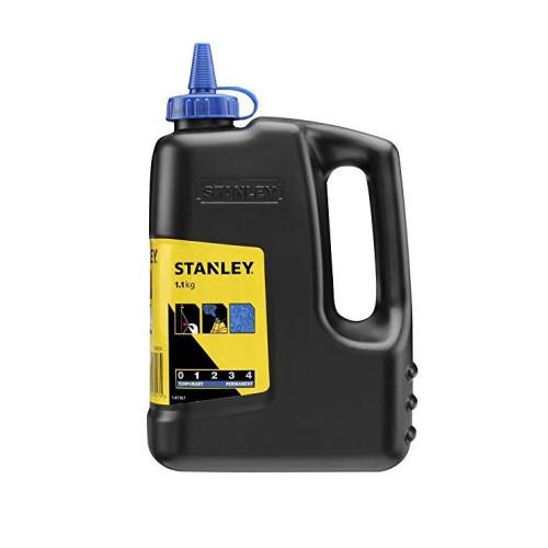 Κιμωλία χάραξης 1000gr μπλέ STANLEY 1-47-917