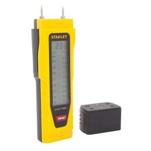 STANLEY 0-77-030 Μετρητής Υγρασίας με Οθόνη LCD