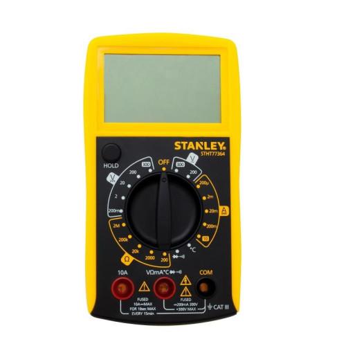 Πολυμετρο με οθόνη και ηχητική ένδειξη (buzzer) STANLEY STHT0-77364