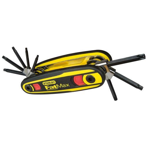 Σετ 8 αναδιπλούμενων κλειδιών ασφαλείας άλλεν TORX FATMAX Stanley 0-97-553